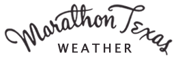 marathon texas weather